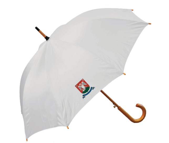 Fehér esernyő