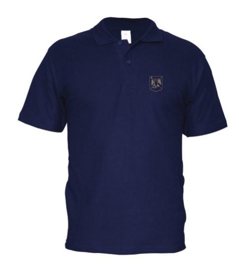 Galléros kék póló
