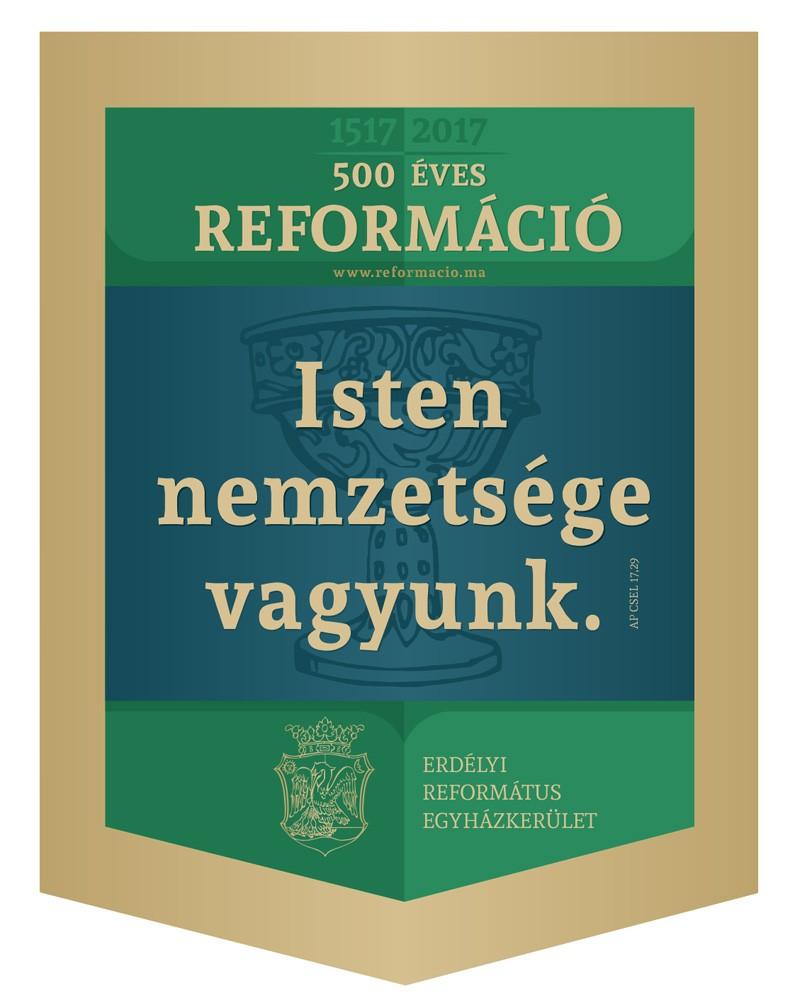 Zászló - 500 éves Reformáció, 32x45 cm