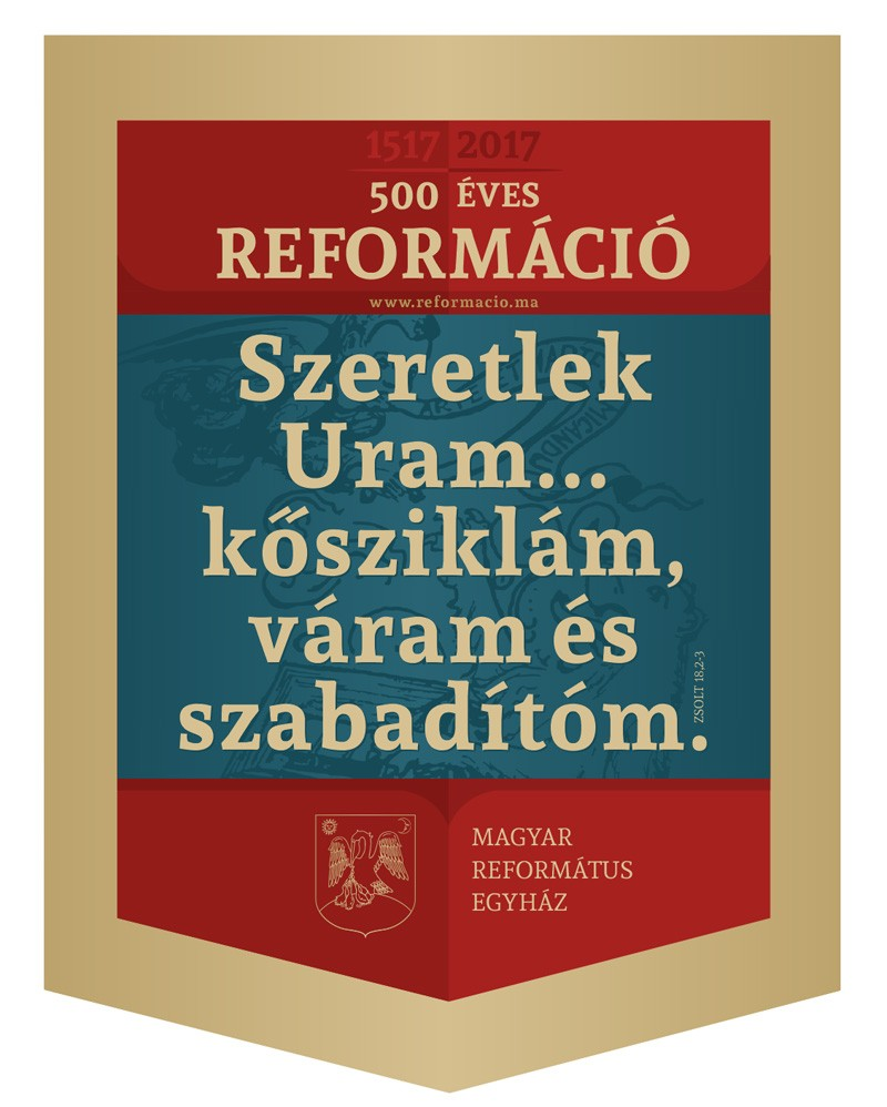 Zászló - 500 éves Reformáció, 100x75 cm