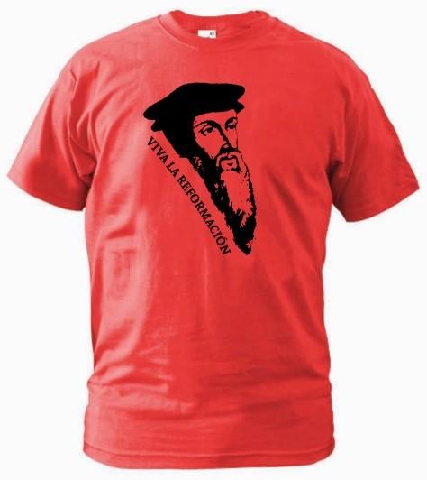 Kerek nyakú póló - Viva la Reformacion